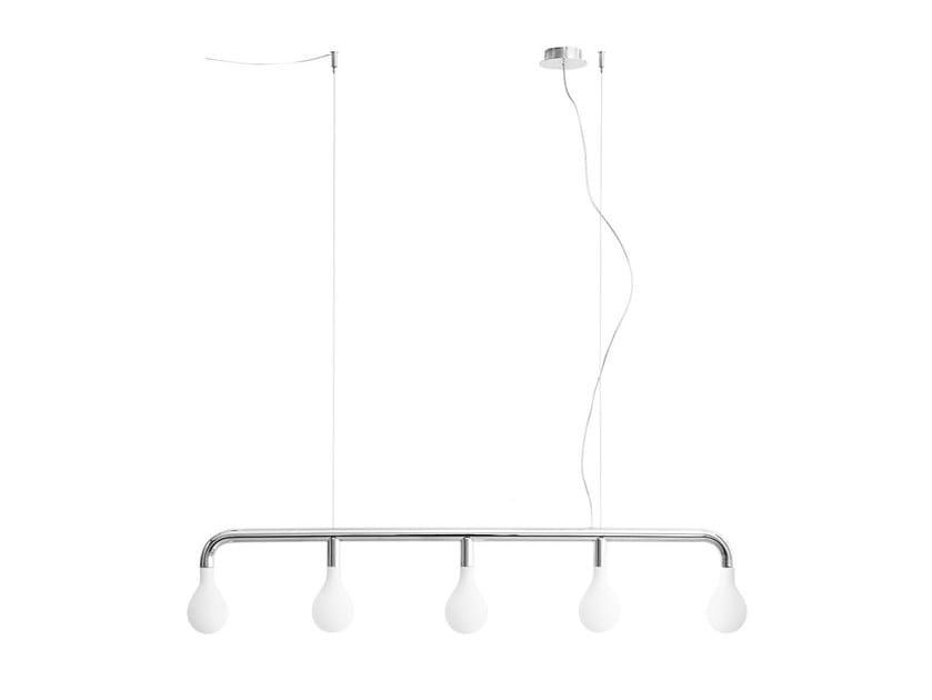 Metal pendant lamp POM POM | Metal pendant lamp - Calligaris
