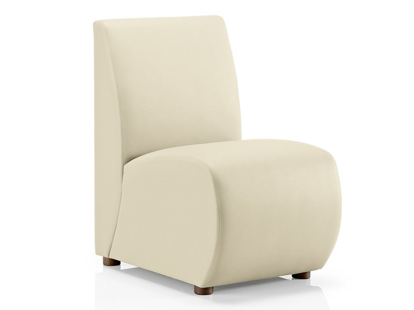 Leather easy chair POP 80 | Easy chair by JMS