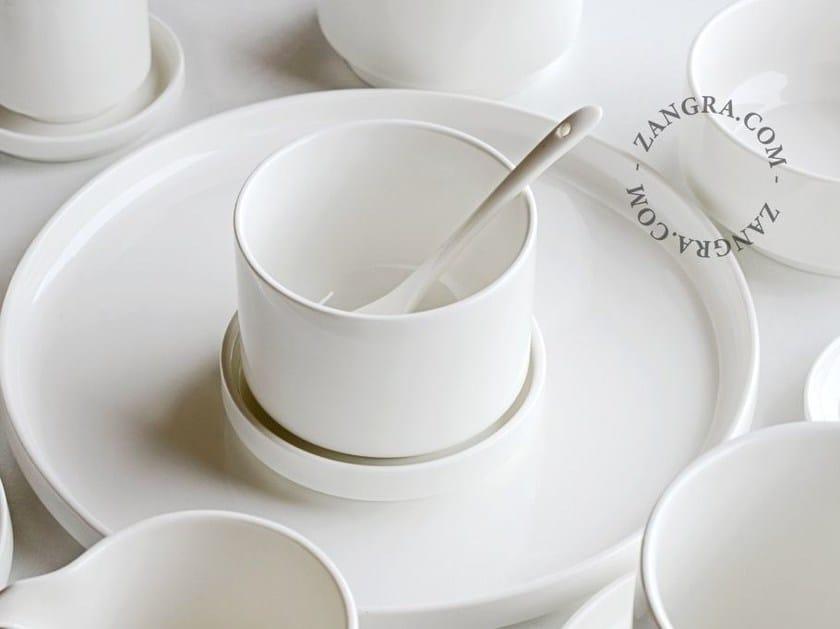 Porcelain cup with saucer PORCELAIN CUP - ZANGRA
