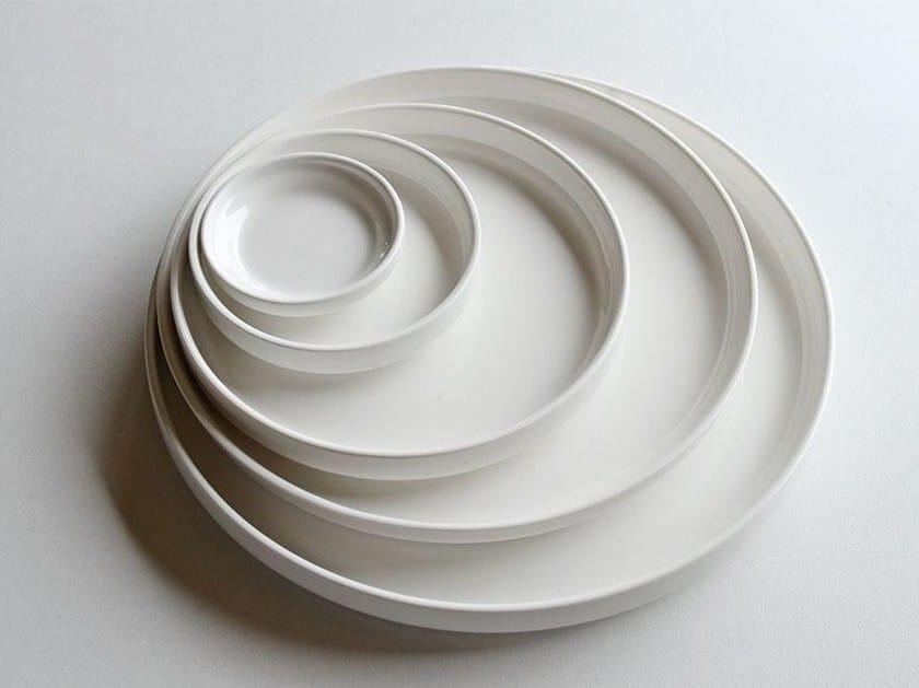 Piatto piano in porcellana PORCELAIN DINNER PLATES - ZANGRA