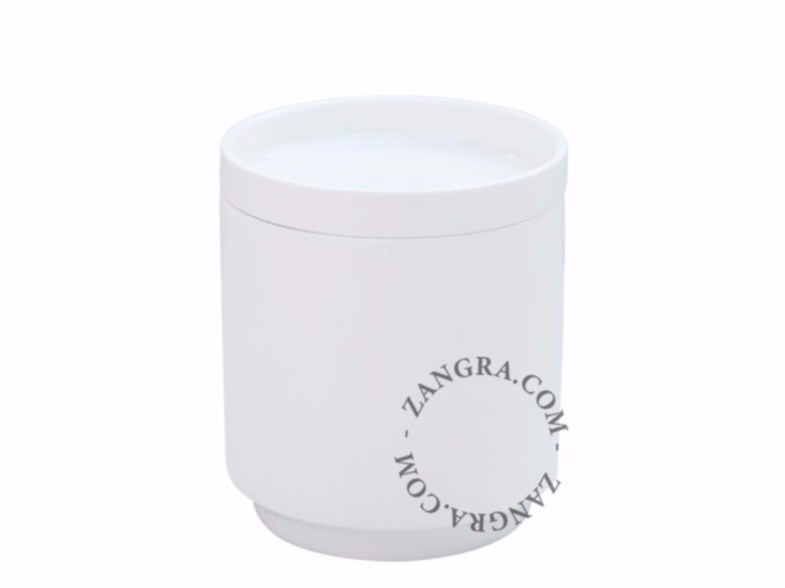 Porcelain cookie jar / food-storage box PORCELAIN POT by ZANGRA