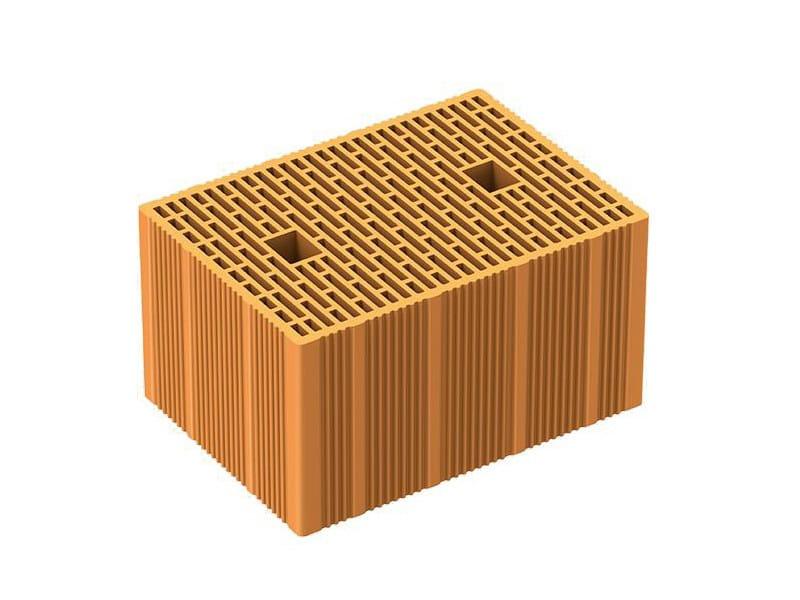 Thermal insulating clay block POROTON P800 TS - Latercom