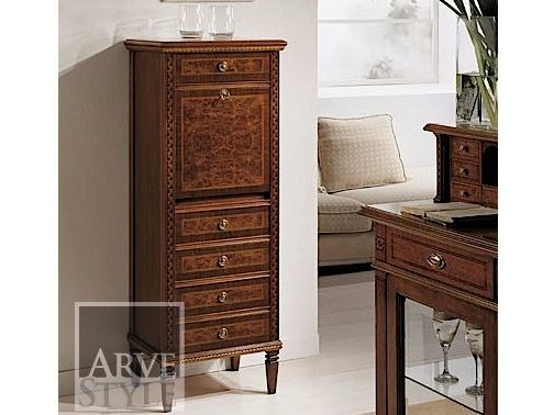 Free standing solid wood chest of drawers POSITANO | Chest of drawers - Arvestyle