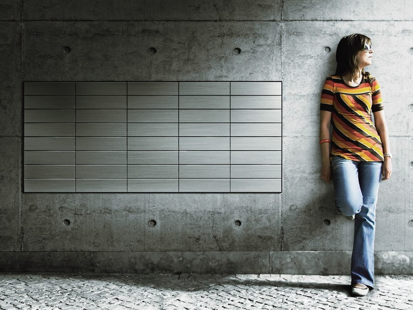 Cassetta postale a muro da incasso in metallo POSTA DE MURO - Sanwa Company