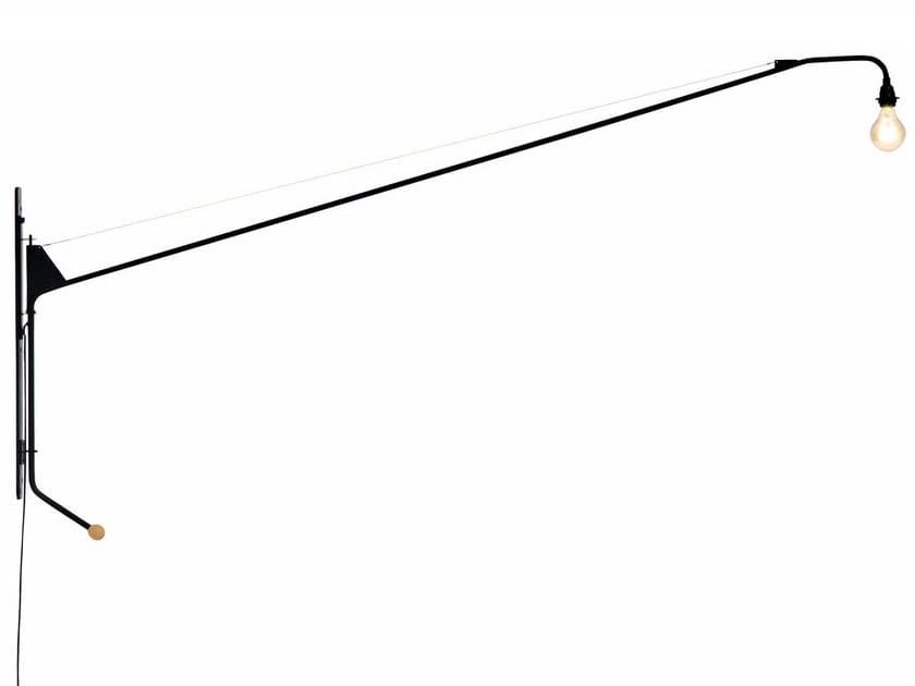 Swivel wall lamp with fixed arm POTENCE - Vitra