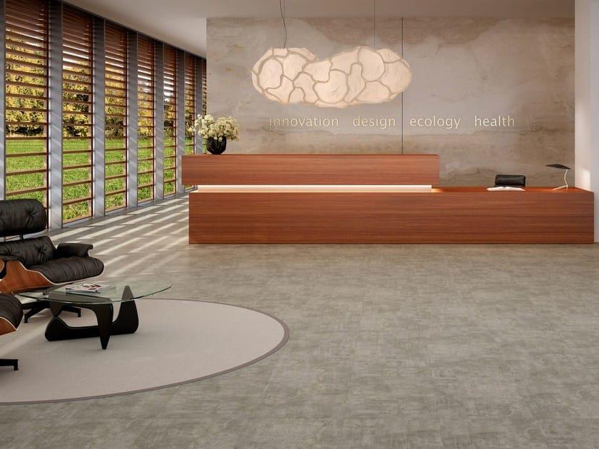 Ecological flooring POUR - Vorwerk & Co. Teppichwerke