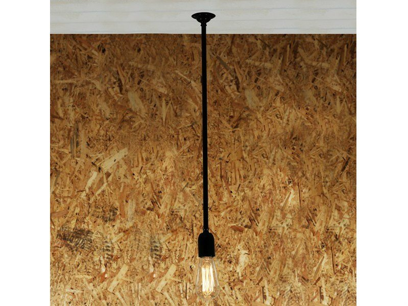 Handmade brass pendant lamp POWELL QUIRKY MINIMALIST PENDANT - Mullan Lighting