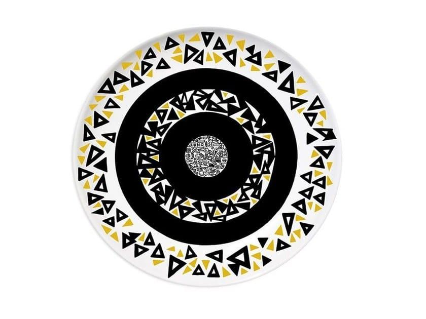Ceramic dinner plate POWER - Kiasmo