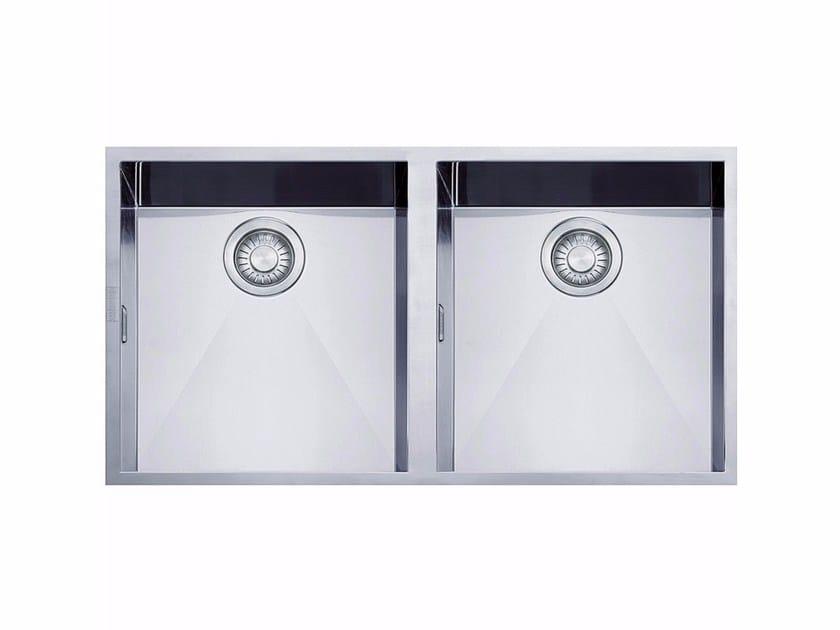 Lavello a 2 vasche in acciaio inox PPX 120 - FRANKE