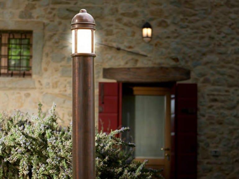 Garden metal bollard light PRÀ   Bollard light - Aldo Bernardi