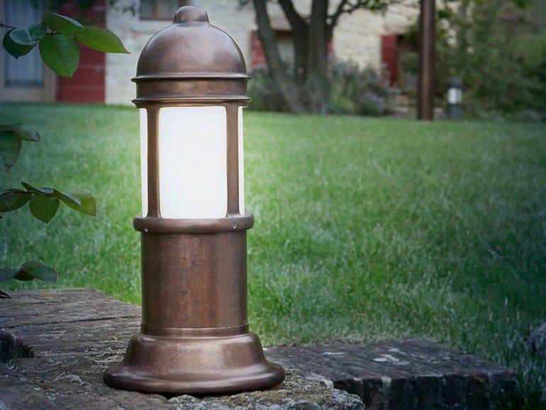 Garden metal bollard light PRÀ | Garden bollard light - Aldo Bernardi