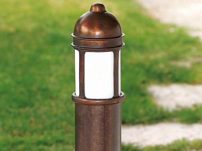 Garden metal bollard light PRÀ | Metal bollard light - Aldo Bernardi