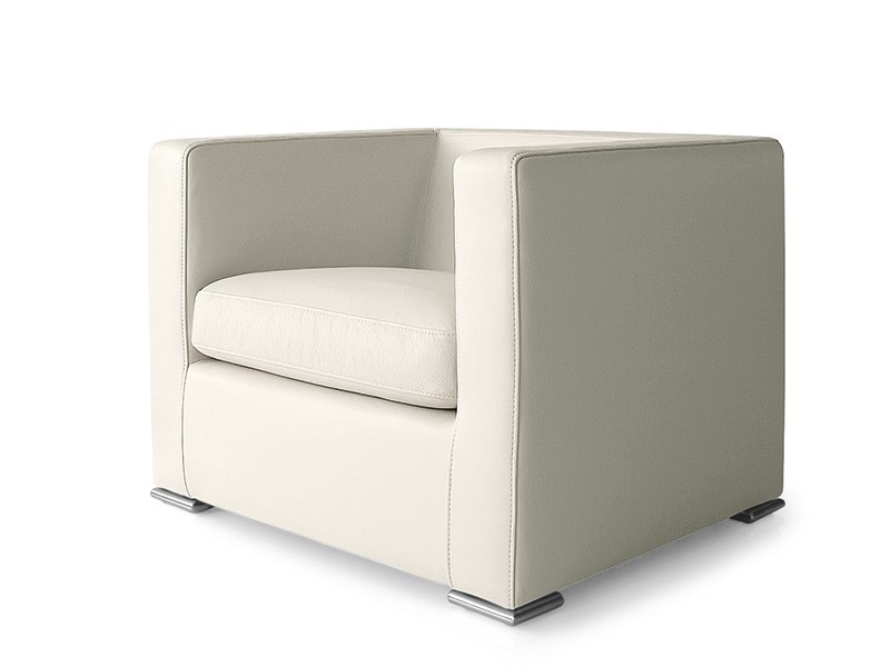 Upholstered armchair with armrests PRÊT À PORTER - Saba Italia