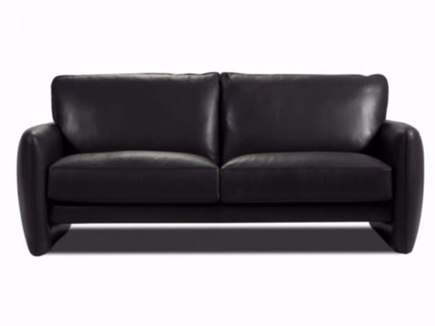3 seater leather sofa PRADO - Canapés Duvivier