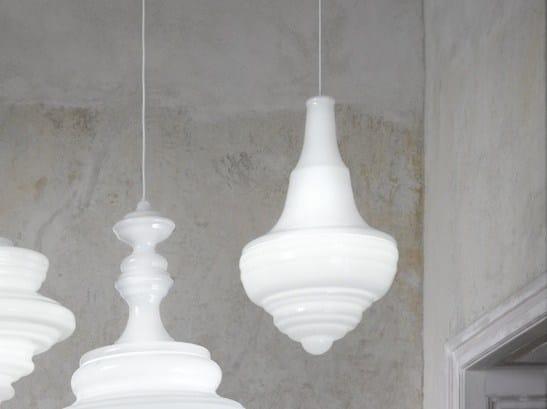 Blown glass pendant lamp PRAGUE ESTATES THEATRE - Lasvit