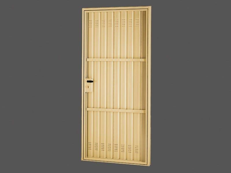 Porta a battente in acciaio pratic porta in acciaio de - Montaggio porta battente ...