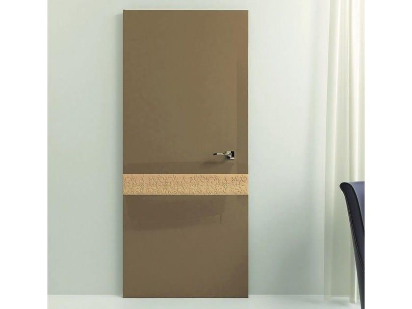 Hinged wooden door PRECIOUS - Pail Serramenti