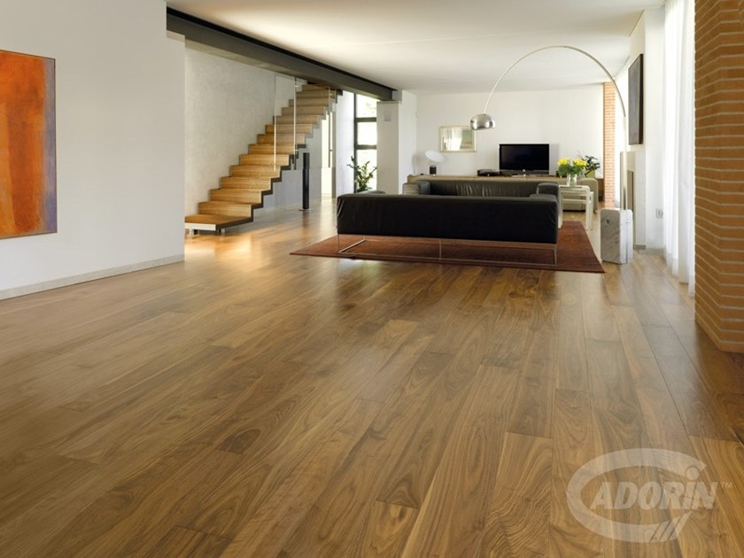 European Walnut wood floor PREGIO PLANKS | Walnut parquet by CADORIN GROUP