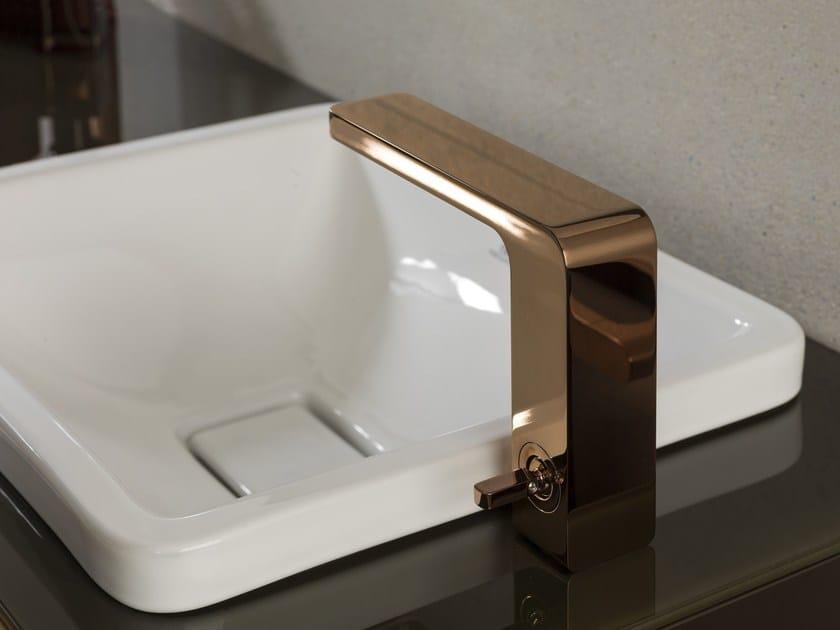 Miscelatore per lavabo da piano monocomando PREMIUM LOUNGE | Miscelatore per lavabo - NOKEN DESIGN
