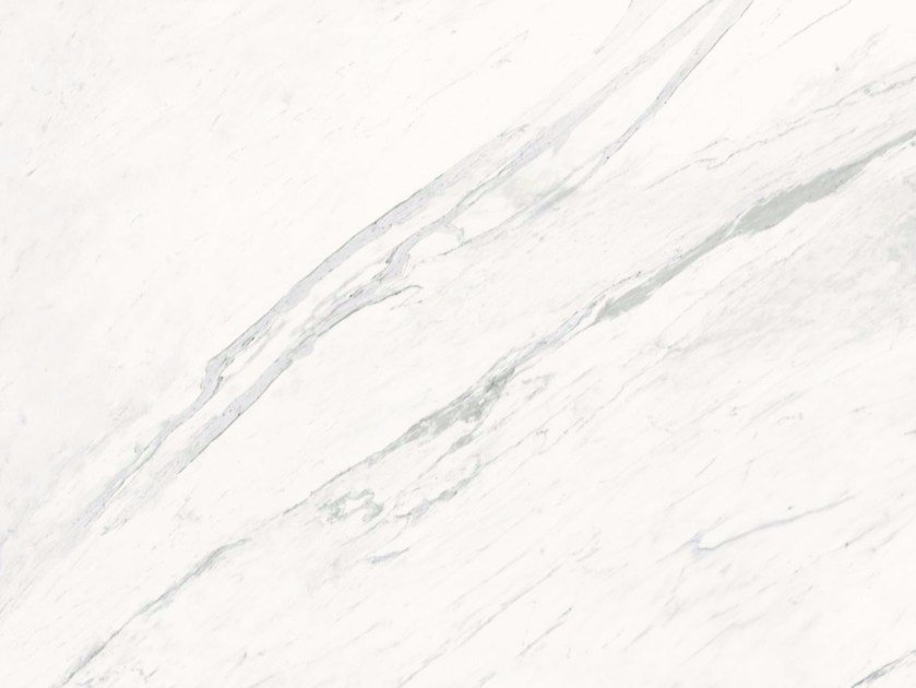 Porcelain stoneware wall/floor tiles with marble effect PREMIUM WHITE A/B - GranitiFiandre