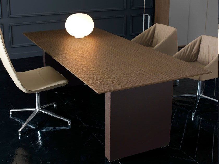 Rectangular executive desk PRESIDENT | Office desk - Quinti Sedute