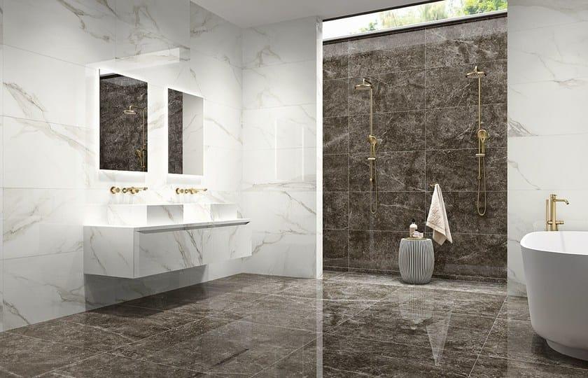Revestimento de pisos paredes com efeito m rmore prestige for Casa classica porcelain tile