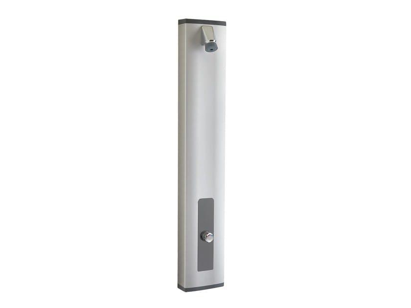 Shower panel with self-closing mixer tap PRESTOTEM® 2 ALPA/ ALPA S® by PRESTO