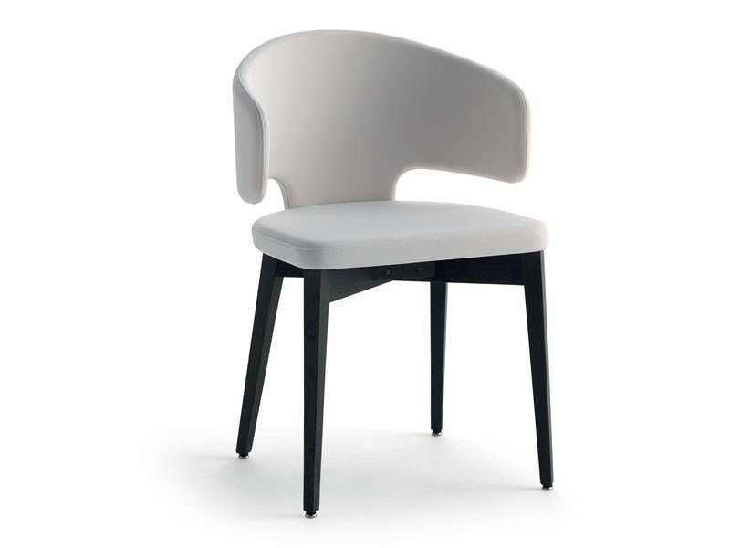 Upholstered chair with armrests PRETTY-P-L   Chair with armrests - Debi