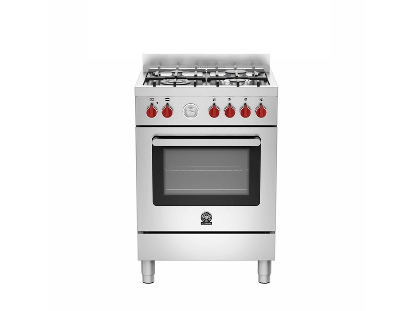 Professional cooker PRIMA - RI6 4C 71 B X by Bertazzoni