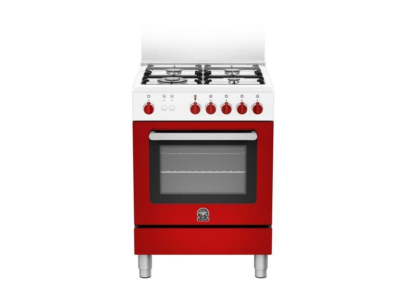 Cucina a libera installazione professionale PRIMA - RI6 4C 71 C W - Bertazzoni