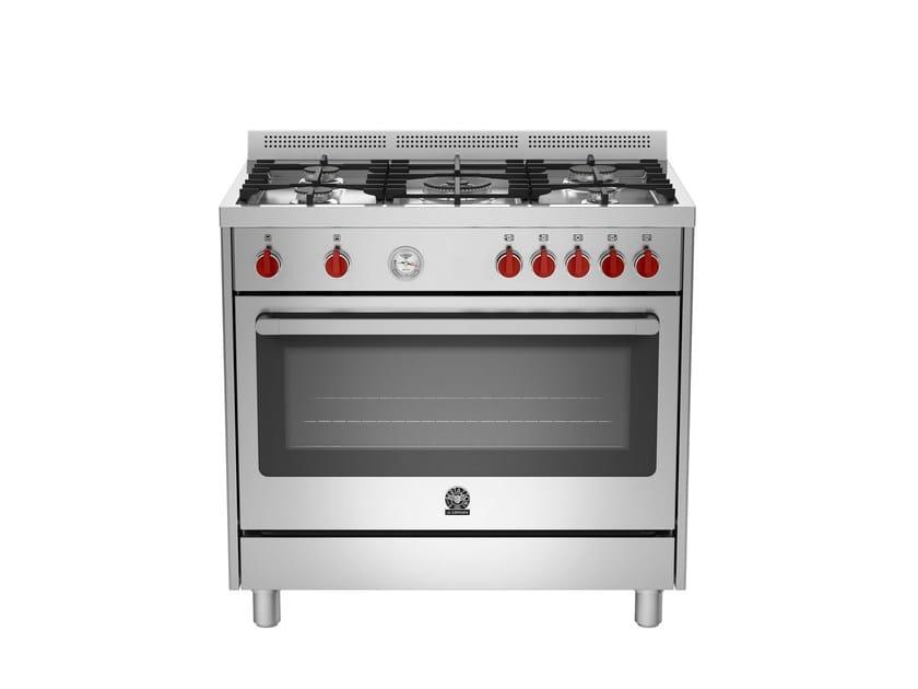 Cucina a libera installazione professionale PRIMA - RIS9 5C 61 B X - Bertazzoni