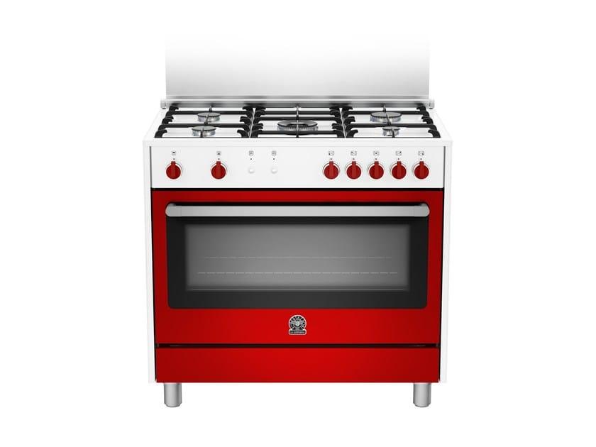Cucina a libera installazione professionale PRIMA - RIS9 5C 71 C W - Bertazzoni