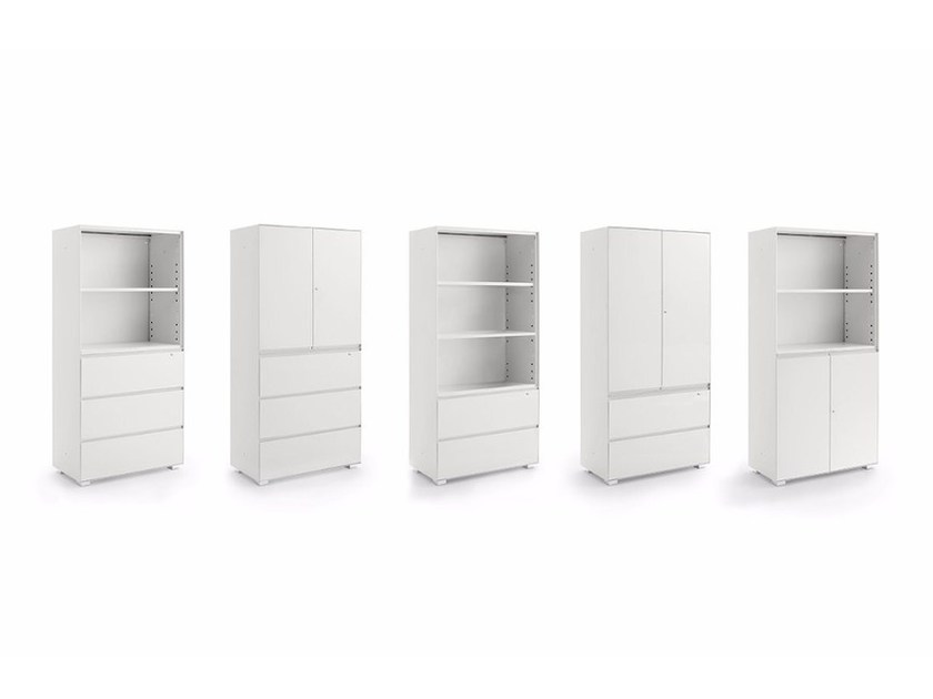 Combined Office cabinet PRIMO COMBI by Dieffebi