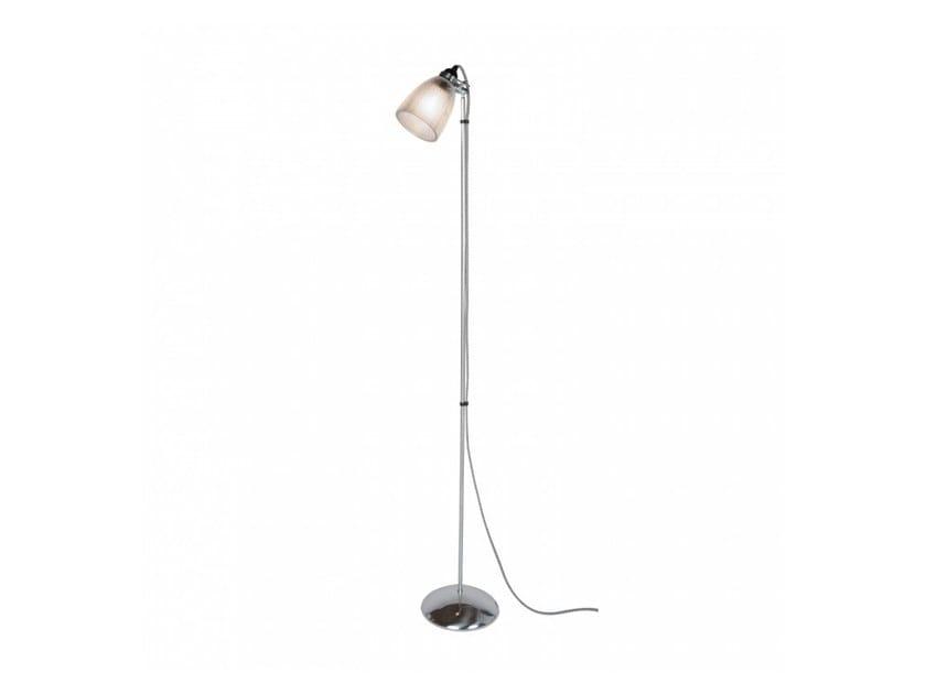Lampada da terra orientabile in vetro PRIMO | Lampada da terra - Original BTC