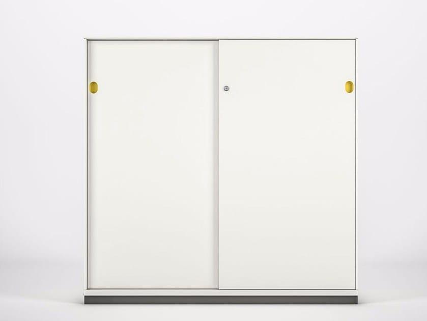 Mobile ufficio in metallo con ante scorrevoli PRIMO SLIDING DOORS - Dieffebi