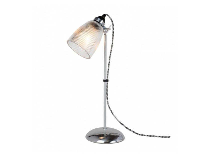 Lampada da tavolo orientabile in vetro con dimmer PRIMO | Lampada da tavolo - Original BTC