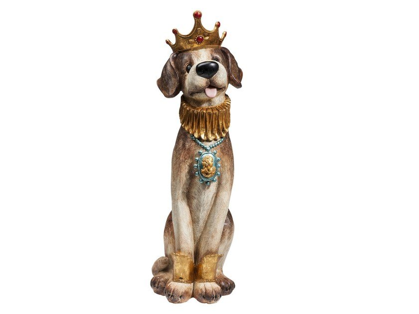 Resin sculpture PRINCE DOG - KARE-DESIGN