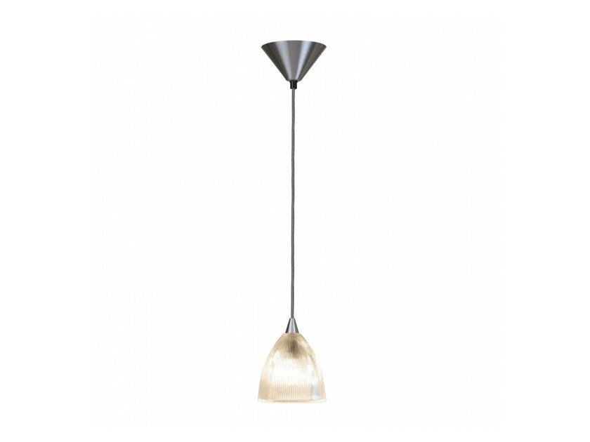 Direct light glass pendant lamp with dimmer PRISMATIC SMALL by Original BTC