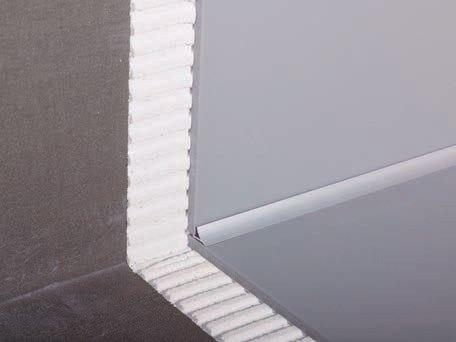 Flooring profile PRO-SANIT - Butech