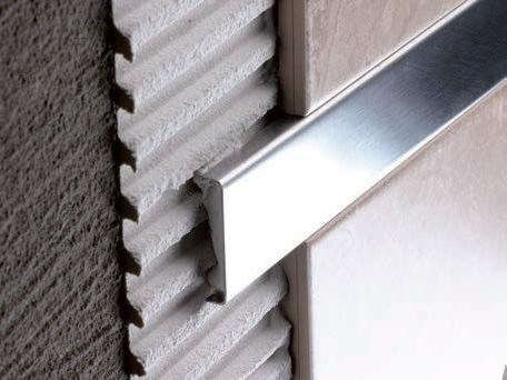 Decorative stainless steel edge profile for walls PRO-TELO STAINLESS - Butech