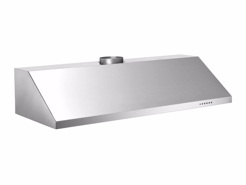 Built-in stainless steel cooker hood with integrated lighting PROFESSIONAL - KU100 PRO 1 X A by Bertazzoni