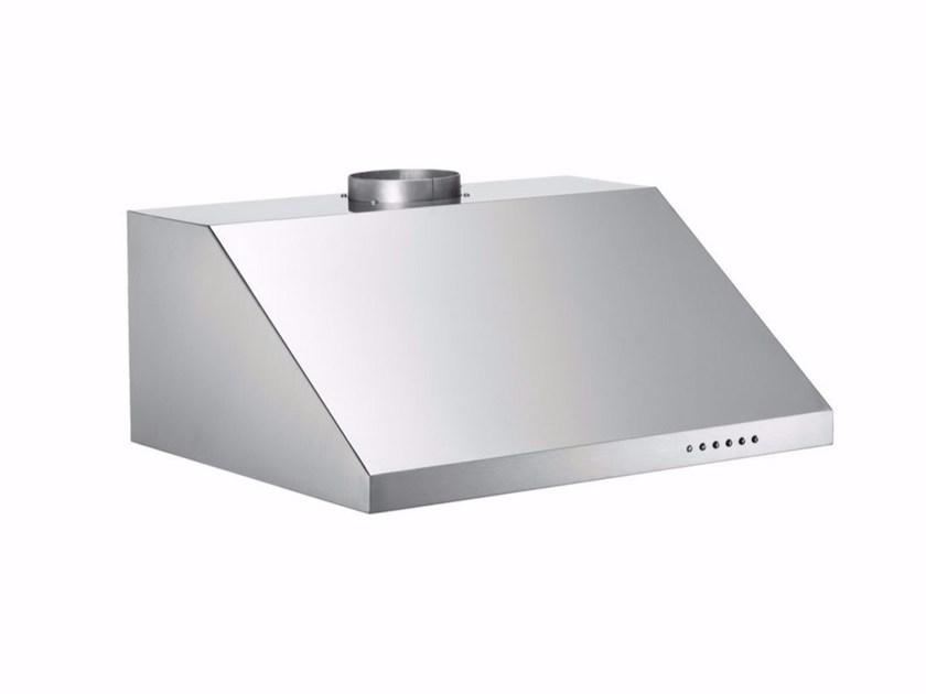 Built-in stainless steel cooker hood with integrated lighting PROFESSIONAL - KU60 PRO 1 X A - Bertazzoni