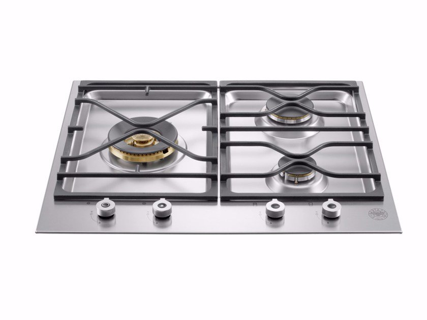 Gas built-in hob PROFESSIONAL - PM60 3 0 X - Bertazzoni