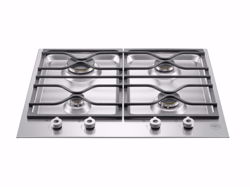 Gas built-in hob PROFESSIONAL - PM60 4 0 X - Bertazzoni