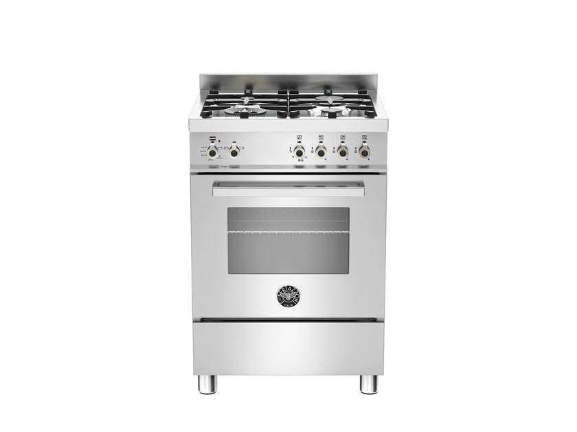 Cucina a libera installazione PROFESSIONAL - PRO60 4 GEV S XE - Bertazzoni