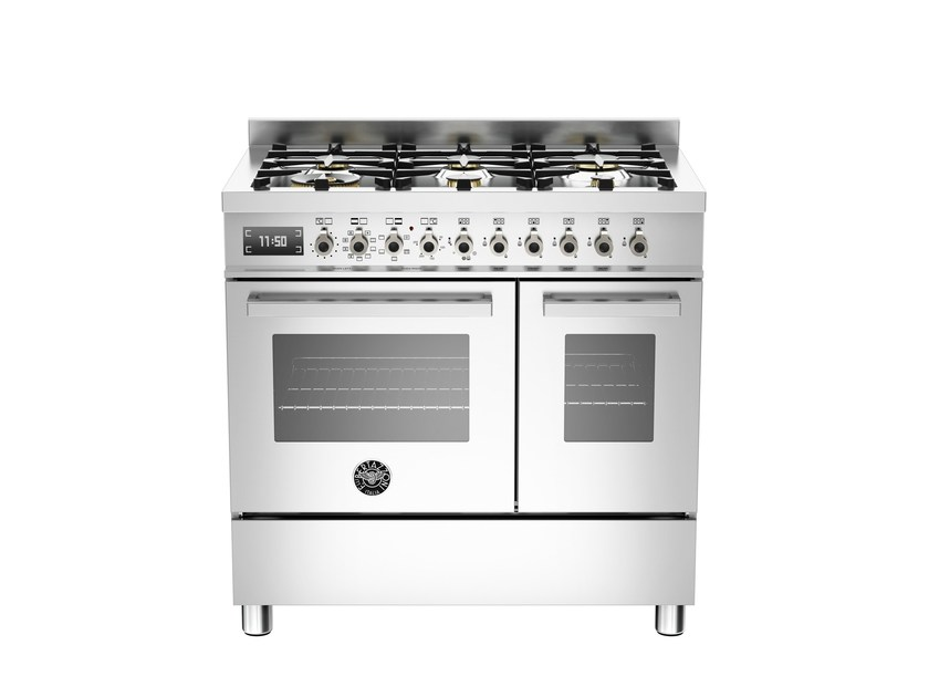 Professional stainless steel cooker PROFESSIONAL - PRO90 6 MFE D by Bertazzoni