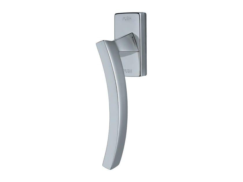 Contemporary style anti-intrusion DK brass window handle PROFILO | Anti-intrusion window handle - LINEA CALI'