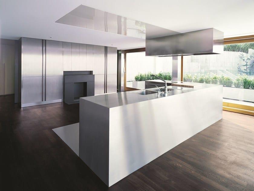 Cucina in acciaio inox npu progr inx by strato cucine - Cucine in acciaio inox ...
