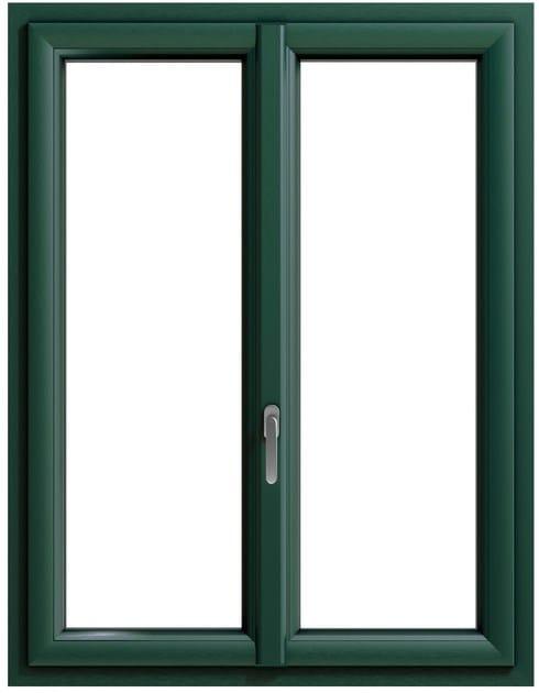 Finestra con doppio vetro in pvc prolux by oknoplast group for Finestre doppio vetro prezzi