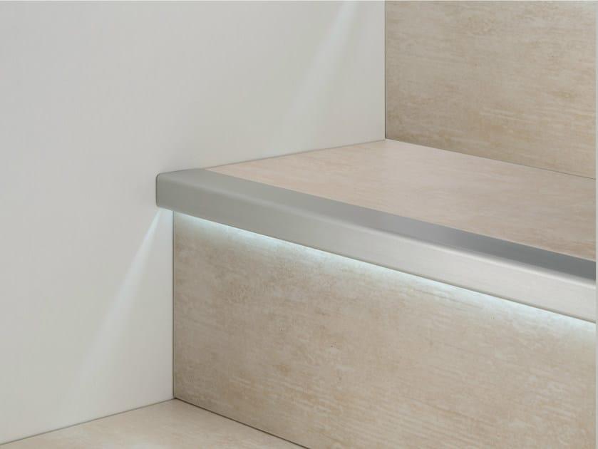 Perfiles esquineros de aluminio con led prolight prostep g - Esquineros para paredes ...